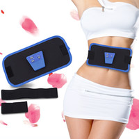 ab shaper belt - Slimming Belt Electronic Gymnastic Device AB Muscle Exercise Toner Slim Fit Gymnic Arm Abdom Waist Massager Body Shaper With Battery Gel B
