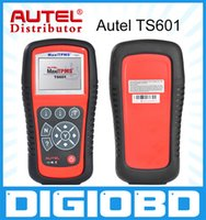 automotive lighting systems - Original AUTEL MaxiTPMS TS601 TPMS diagnostic service tool activate TPMS sensors Reprogram vehicle s ECU Turn off warning lights