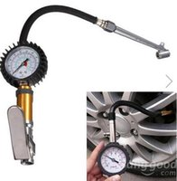 Wholesale Auto Motorcycle Tire Tyre Inflating Tool Pressure Dial Gauge PSI