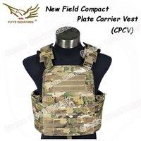 Wholesale FLYYE MOLLE Outdoor Field Tactical Compact Plate Crye CPC Vest Multicam D Cordura FY VT M031