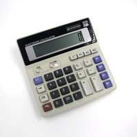 Wholesale BIG New Office calculator Large computer keys DS ML computer Solar Calculator
