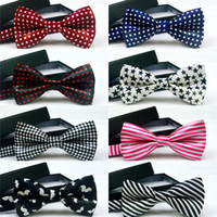 Wholesale New Unisex Neck Bowtie Bow Tie Adjustable Bow Tie high quality adjustment buckles multi style hot sale