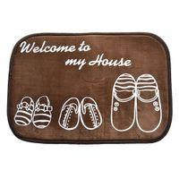 Wholesale Home living room carpet entrance mats door mats bathroom kitchen bathroom absorbent non slip mats