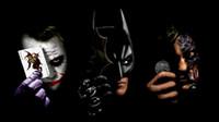 batman original art - Batman Black The Joker HD Art Print Original Oil Painting on Canvas high quality Home Wall Decor Unframed