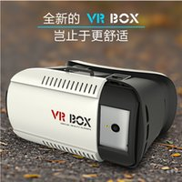 Wholesale Head Mount Plastic VR BOX Version VR Virtual Reality Glasses Rift Google Cardboard D Movie for quot quot Smart Phone