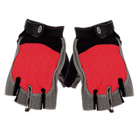 Wholesale Hot Outdoor Accessories Fashion Comfortable Breathable Half Finger Anti Skid Cycling Riding Training Outdoor Sports Cycling Gloves S55