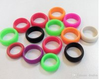 accept band - Ring Ring Ring Fashion Green Silicone Ring Trends In Europe And America Arcuate Accept Custom LOGO