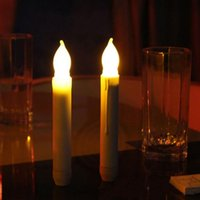 Wholesale Extensive Use Of A Set Of Plastic Strip Lamp Head Flame Flicker LED Candle