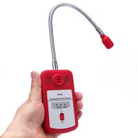 Wholesale Sensitive Combustible Gas Detector Portable Gas Leak Location Determine Tester with Sound light Alarm Useful Gas Analyzer