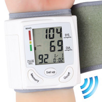Wholesale Professional Health Care Wrist Portable Digital Automatic Blood Pressure Monitor Household Type Protect Health