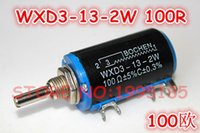 Wholesale WXD3 W Shaft Dia R Ohm Rotary side Multiturn Potentiometer