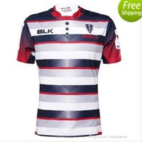 Wholesale 2016 Melbourne Rebels Home Jersey White Navy Red like original quality Melbourne Rebels Home Rugby Jersey