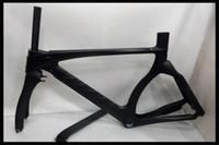 best carbon fiber road bike - TT cm Top sale best quality full CARBON Fiber Bike Frameset White blue red green