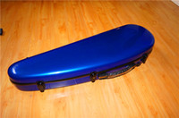 Wholesale Violin case blue glass fiber violin case