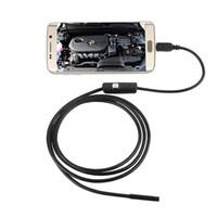 borescope - 1M M M FT FT FT Endoscope Borescope USB Android Inspection Camera HD LED mm Lens P Waterproof Car Endoscopio Tube mini Camera