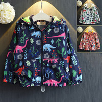 Wholesale 2016 fall printing hooded coat jacket boy girl new fashion clothing TOP quality