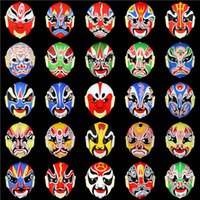 Halloween masks china opera - Peking Beijing Opera Masks Halloween Horror Prank Joke Disguise China Traditional Party Supply Gifts