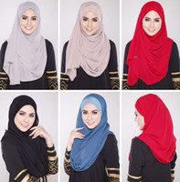 Wholesale The new will all match Muslim Veil scarf basic good shape exclusive cash supply