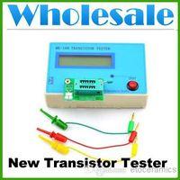 Wholesale Transistor Tester Capacitor Inductance L C R NPN PNP Mosfet Resistor Meter Lots50