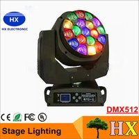 bee lamp - DMX512 Bee Eyes LED Moving Head stage lighting X15W W RGBW IN DJ lamp Super effect LED stage lighting christmas