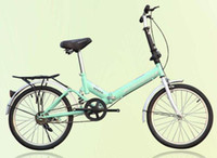 al bikes - 20 inch single speed folding bike riding car Various colors easy to carry Simple and practical al