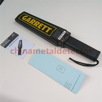 airport security scanners - Portable Metal Detector Garrett Super Scanner Hand Held Metal Detector Wand Paddle Security Safety for metro and airport
