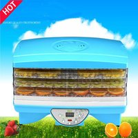 Wholesale V FD890 Microcomputer dried food vegetable dehydration dried food fruit machine dryer with trays By Hosalei