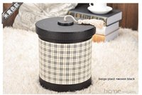 Wholesale 8L round double layer built in metal leather trash garbage waste rubbish bin storage bucket dustbin with lid for home hotel A