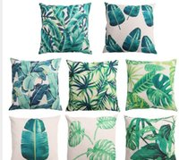 best throw pillows - Fashion Creative Bamboo Pattern Cotton Pillow Cover Throw Pillow Cushion Cover cm cm Best Price