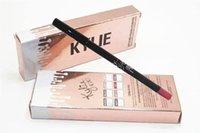 Wholesale Kylie jenner Lip Liner Matte Pencil Lipliner Fashion Professional Lipliner Makeup Waterproof Lip Liner Pencil in stock