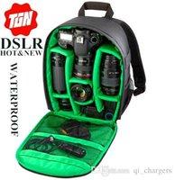 Wholesale New Pattern DSLR camera Bag Backpack Photo Bags for Camera d3200 d3100 d5200 d7100 Camera Backpack