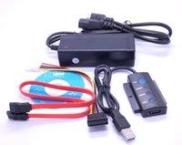 ata hard drive to usb - New USB to IDE SATA S ATA Hard Drive HD HDD Converter Adapter Cable Mar07