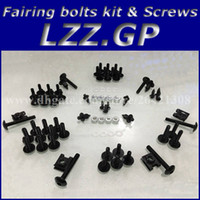 Wholesale Fairing bolts kit screws for YAMAHA YZF R1 YZFR1 YZF R1 fairing screw bolts kit