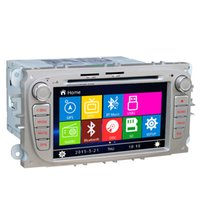 Wholesale inch Car DVD GPS Navigation stereo For Ford Focus Mondeo C Max S Max Silver