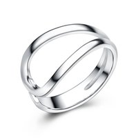 american ring manufacturing - stamped s925 silver new model ring without stones plain design jewellery handmade silver jewelry manufacture cheap prices
