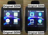 android windows phone - 2016 Fashion Original Smart Watch DZ09 Sim Watch Smartwatch Support TF Card Bluetooth Smart Clock GSM Call Standard Bluetooth