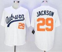 baseball universities - 29 Bo Jackson Jerseys Auburn University Baseball Jersey White Throwback VINTAGE Baseball jersey size extra Small S M XL