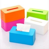 Wholesale Colorful stepped toilet paper tissue boxes base adjustable lifting car tissue pumping storage box napkin holder cover organizer
