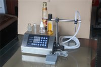 Wholesale Compact Digital Control Pump Liquid Filling Machine ml very precisely English chinese panel V V