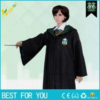 Wholesale Children and Adult Harry Potter COSPLAY Uniform Magic Gown Robes Cloak Clothing School Cosplay Costumes Clothes