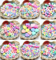 Wholesale DIY loose Beads Hot Sale Children DIY Beads Candy Color Beads Girls Jewelry Colorful Beads Children Gift Kids Beaded coloful and creative