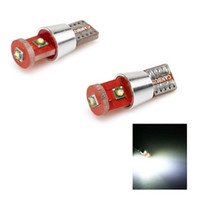 automotive wedge bulbs - T10 Wedge High Power W Cree3SMD Dashbaord Car Light Lamp LED Automotive Interior Bulb Lighting