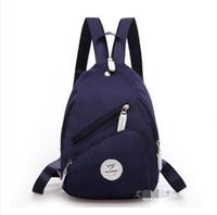 backpack tourist - 2016 summer new Ms shoulder bag men shoulder canvas bag lady tourist mini messenger bag mammy bag