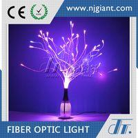 acrylic fiber optic - Ce certificate v rgb fancy color changing decoration acrylic led optic fiber table centerpiece night lights