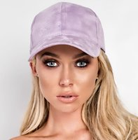 Wholesale Lady girls blank plain snapback hat Adjustable Faux Suede Precurved Bill ball Cap