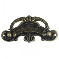 Wholesale Dorabeads Jewelry Cabinet Cupboard Box Handle Drawer Pull Antique Bronze Pattern Carved cm x cm quot x1 quot