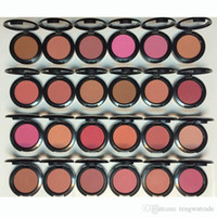 Wholesale New and HOT makeup Powder cheek Blush different colors No mirrors no brush cosmetic g