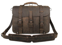 animal hides leather - Raw Buffalo Hide Leather Men Laptop Backpack Leather Large Size Travel Duffle Bag quot R