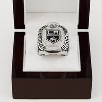 angeles indian - WITH WOOD BOX National Hockey League LOS ANGELES KING STANLEY CUP D Design High Quality Replica CHAMPIONSHIP RING STR0