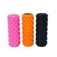 big foam blocks - Foam Roller Size Big Enough Yoga Pilates Block Massage Roller Fitness Gym Equipment Pilates Foam Roller Yoga Column